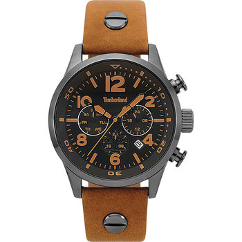 TIMBERLAND Jenness Brown Leather Strap