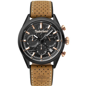 TIMBERLAND Randolph Chronograph Brown Leather Strap