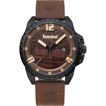 TIMBERLAND Eastford Brown Leather Strap
