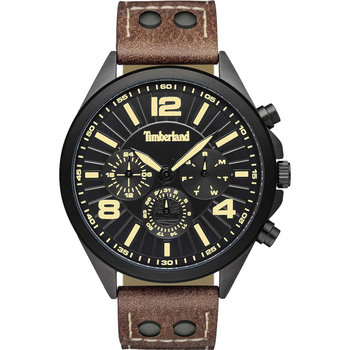 TIMBERLAND Ferrisburg Brown Leather Strap