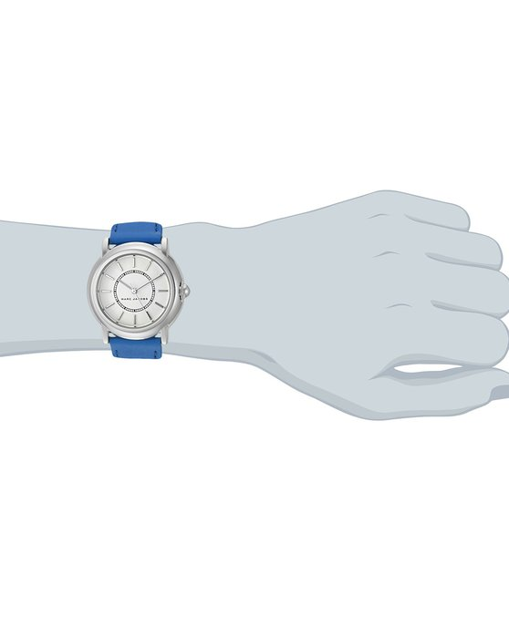 MARC BY MARC JACOBS Courtney Blue Leather Strap