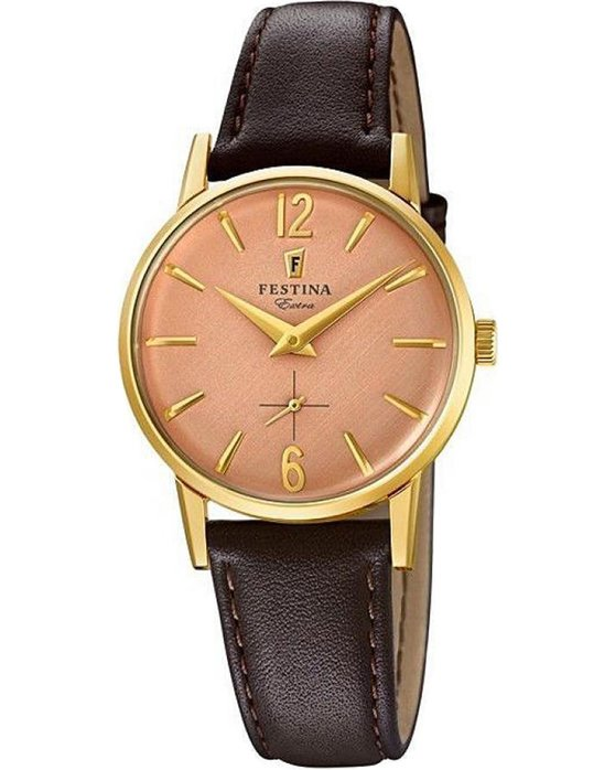 FESTINA Extra Brown Leather Strap