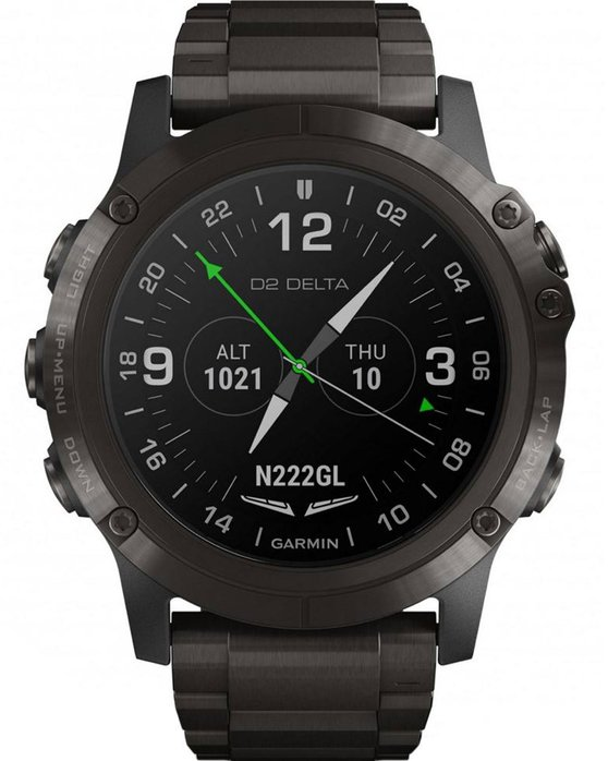 GARMIN D2 Delta PX Aviator Watch with DLC Titanium Strap