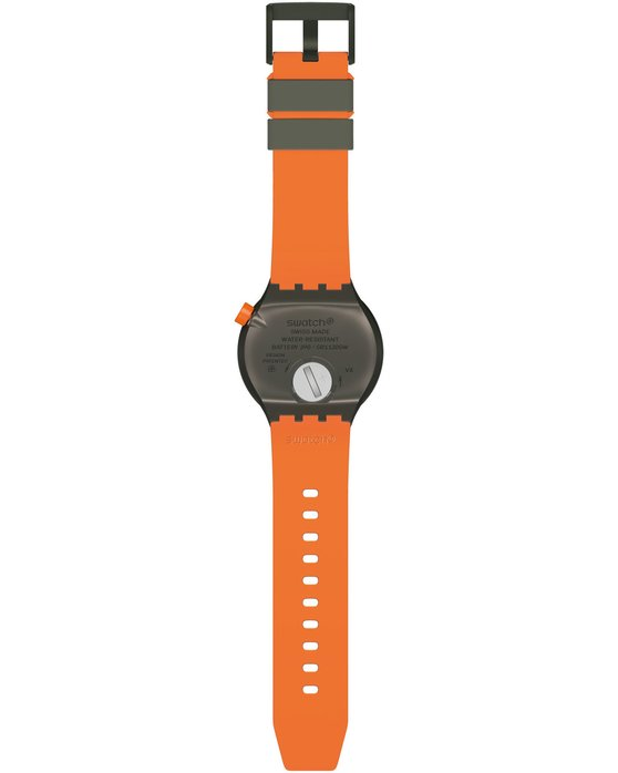 SWATCH BBBEAUTY Two Tone Silicone Strap