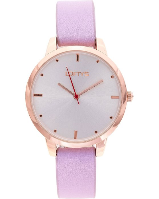 LOFTY'S Andromeda Purple Leather Strap