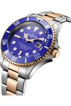 AQUADIVER Water Master Two Tone Stainless Steel Bracelet 300M