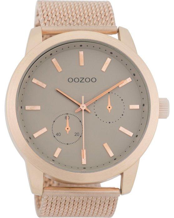 Ρολόι OOZOO Timepieces Rose Gold Metallic Bracelet - C9662 - OROLOI.gr 09241bceb47