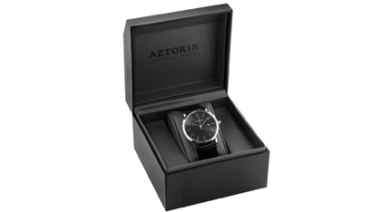 AZTORIN Sport Chronograph Two Tone Stainless Steel Bracelet