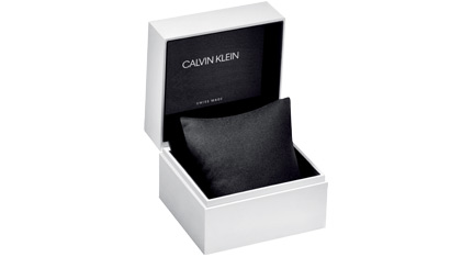 CALVIN KLEIN fraternity blue leather strap
