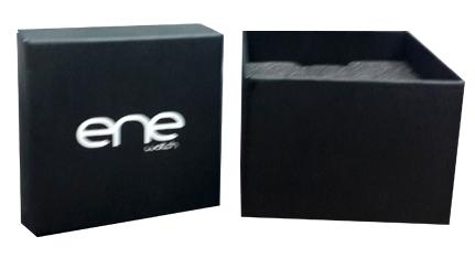 ENE 105 Black Fabric Strap