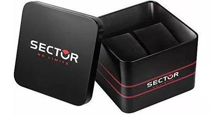 SECTOR 180 Chrono Black Dial Stainless Steel Bracelet