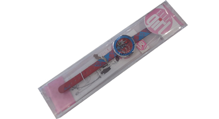 ELLE GIRL Stainless Steel Multicolor Leather Strap