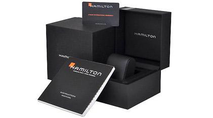 HAMILTON Jazzmaster Open Heart Automatic Silver Stainless Steel Bracelet