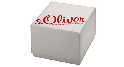 s.Oliver Ladies Silver Stainless Steel Bracelet