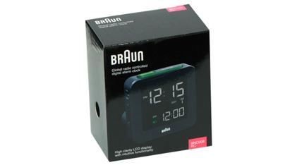 BRAUN Ψηφιακό Ρολόι - Ξυπνητήρι με Bluetooth