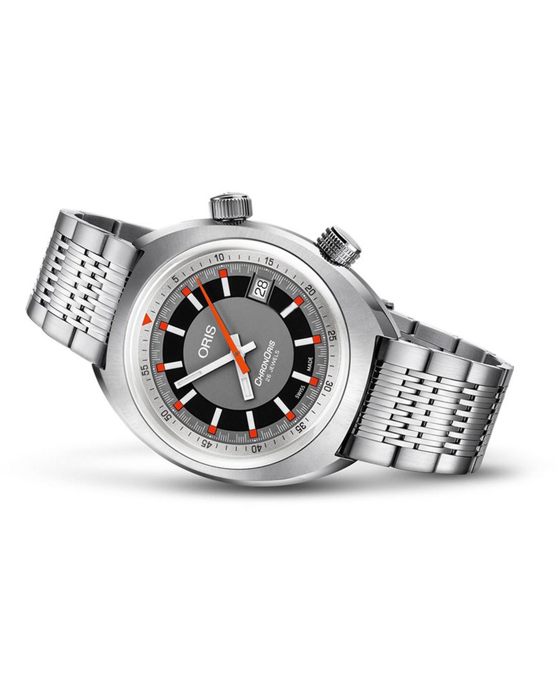 Ρολόι ORIS Chronoris Automatic Stainless Steel Bracelet ... b17db3cdea2