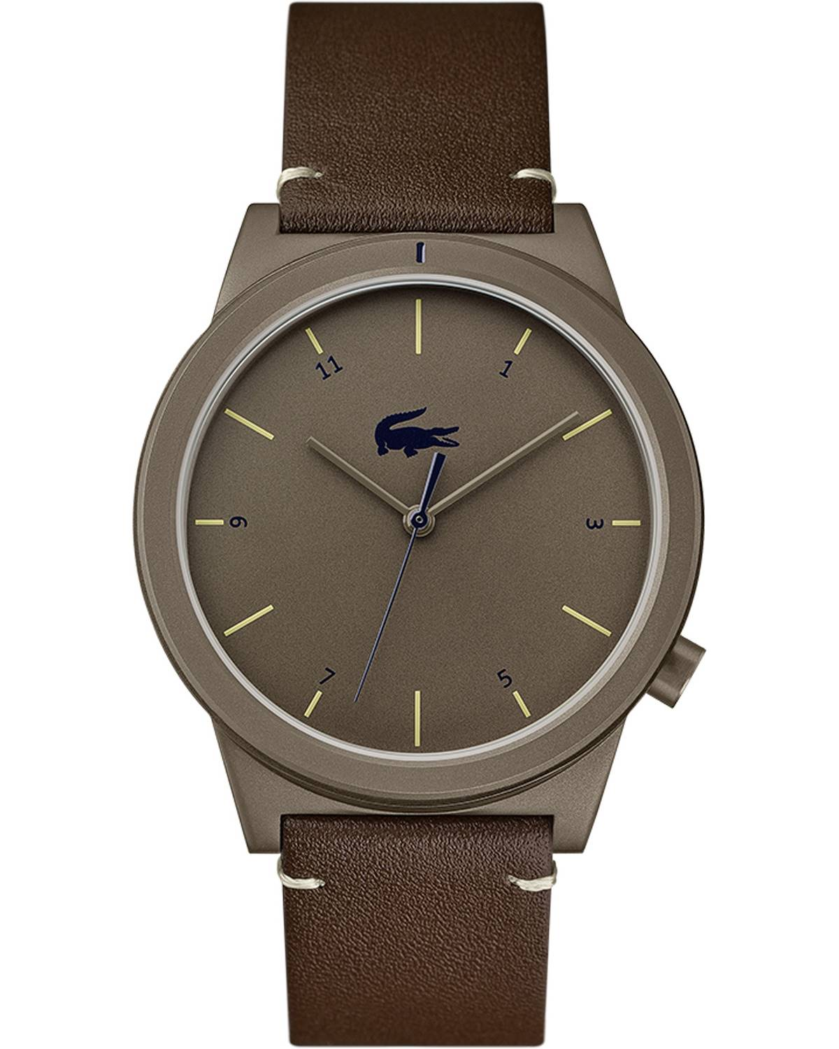 4cead38a25 Ρολόι LACOSTE Motion Brown Leather Strap - 2010992 - OROLOI.gr