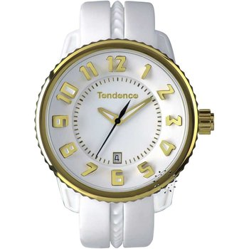 TENDENCE Gulliver Medium White Rubber Strap