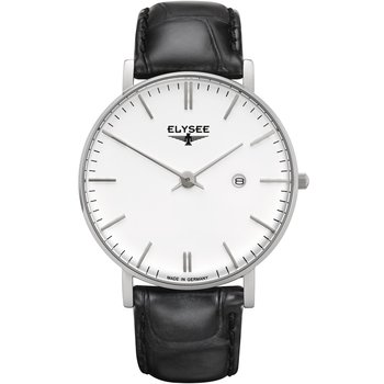 ELYSEE Zelos Black Leather