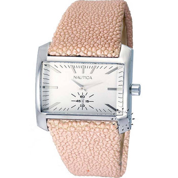 NAUTICA Pink Leather Strap