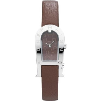 AIGNER Ladies Brown Leather