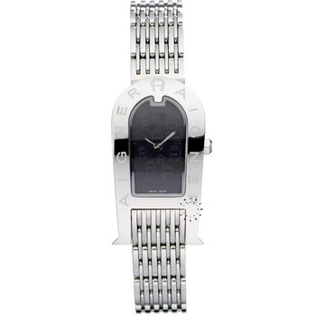 AIGNER Ladies Stainless Steel Bracelet Black Dial