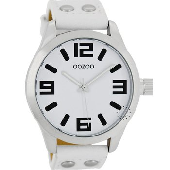 OOZOO Small Τimepieces White