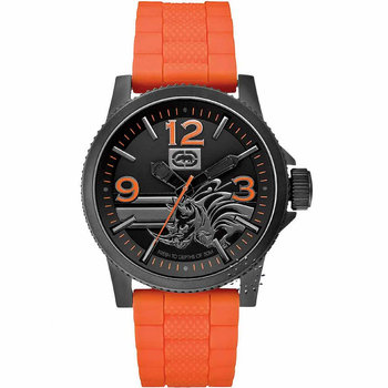 MARC ECKO Orange Rubber Strap