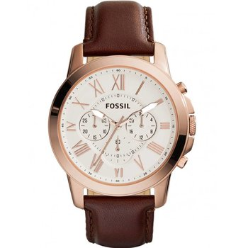 FOSSIL Grant Chrono Brown