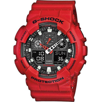 CASIO G-SHOCK Chronograph Red