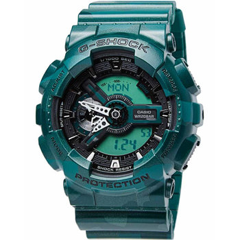 CASIO G-SHOCK Green Rubber