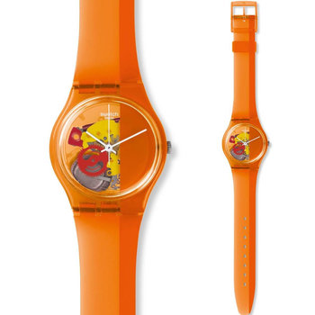 SWATCH Bloody Orange Rubber