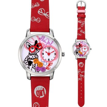 ELLE GIRL Stainless Steel Red