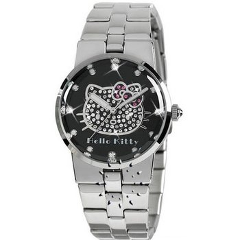 HELLO KITTY Crystals Silver