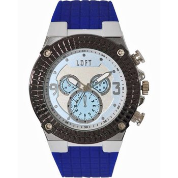 LOFT Men Blue Rubber Strap