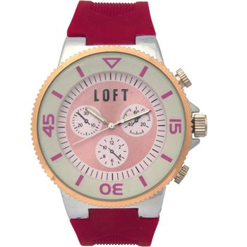 LOFT Ladies Bordeaux Rubber Strap