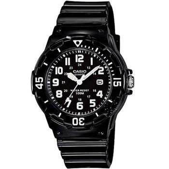 CASIO Collection Black Rubber