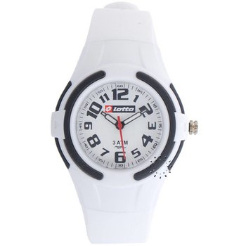 LOTTO Kids White Rubber Strap