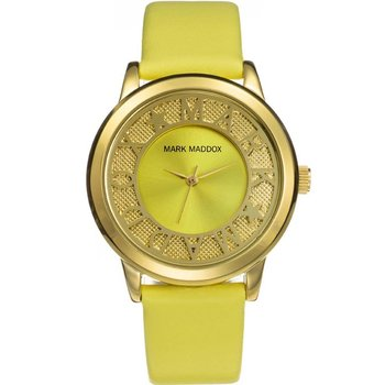 MARK MADDOX Yellow Leather