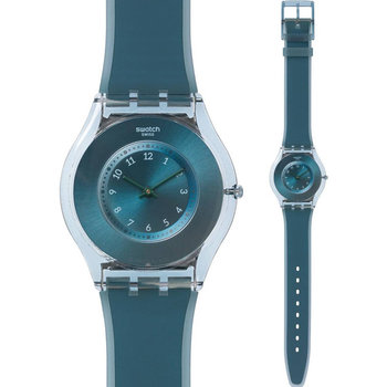 SWATCH Dive In Blue Rubber