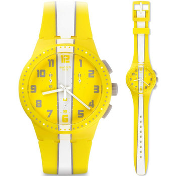 SWATCH Amorgos Yellow Rubber