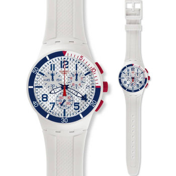 SWATCH Speed Up White Rubber