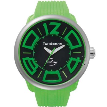 TENDENCE Fluo Fantasy Green Rubber Strap