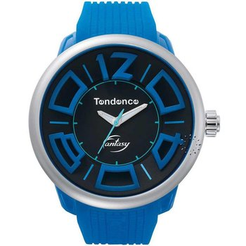TENDENCE Fluo Fantasy Blue Rubber Strap