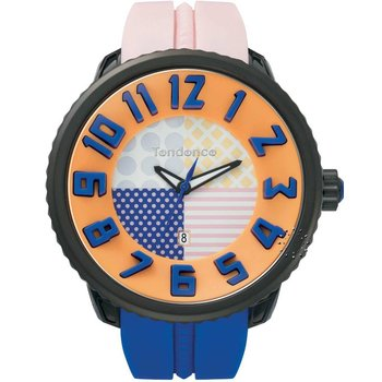 TENDENCE Crazy Pink & Blue