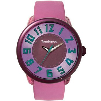 TENDENCE Fantasy Pink Rubber Strap