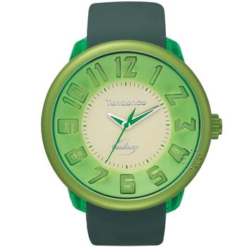 TENDENCE XXL Fantasy Green Rubber Strap