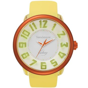 TENDENCE Fantasy Yellow Rubber Strap