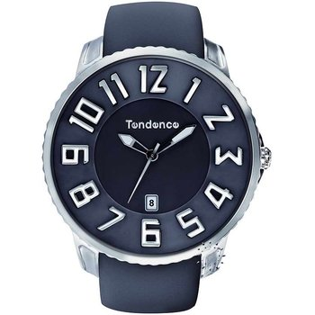 TENDENCE Gulliver Slim Grey Rubber Strap
