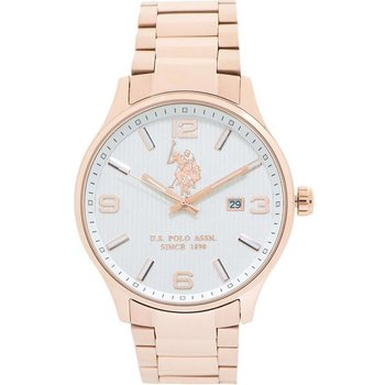 U.S. POLO Rose Gold Stainless